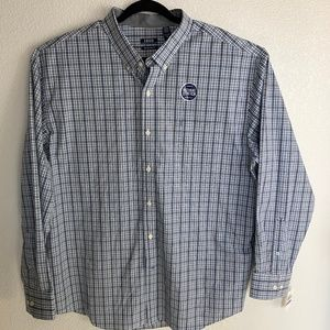 IZOD Natural Stretch Big & Tall Button Up Shirt
